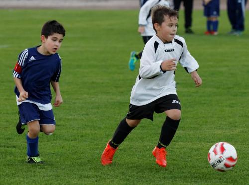 18.10.2017 F-Jugend erstes Spiel
